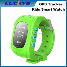 Fashion GPS Kid's Smart Watch Q50 Tracking Watch For Kids Support Remote Monitoring