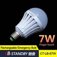 Magic bulb finger touch rechargeable led bulb battery powered light bulb to South Africa market