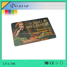 Mini custom usb flash drive,business card,usb 2.0 driver