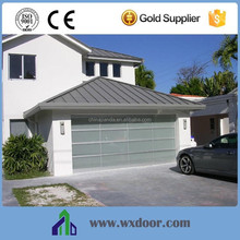 Garage position clearly automatic glass door