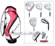completo de golf/nuevo estilo de juego completo de golf/alos de golf baratos