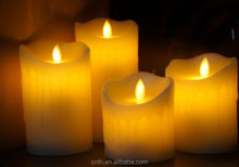 flameless led wax candle wholesale,led candle with remote control candle garden led light