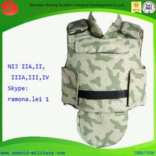 NIJ 0101.06 NIJ III+ Ak7 bulletproof vest AK47 Kevlar bulletproof vest AK 47 bulletproof body armor