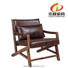 European style modern furniture wooden relaxing chair FD14A-1
