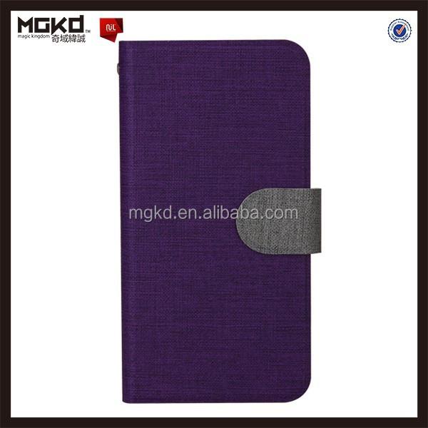 China wholesale brieftasche stil ledertasche für iphone 6& plus