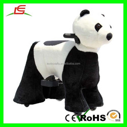 E203 Ride-on Rechargeable Plush Animal Electric Scooter