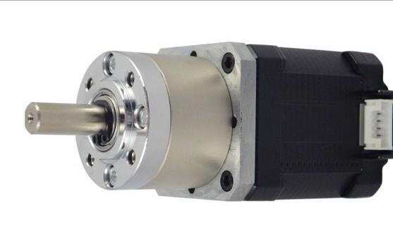 Reduction ratio 3.60 high efficiency NEMA23 planetary gear stepper motor
