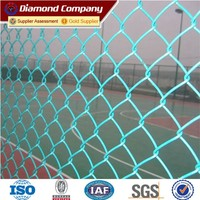 Baseball Fields Chain Link Fence /Rubber Coated Chain Link Fence