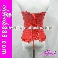 Hot sale high quality female corset lingerie