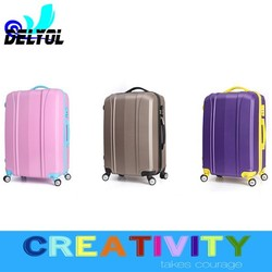 2015 travel luggage bags built -in men women kids department trolley bag/trolley luggage with 4 universal wheels