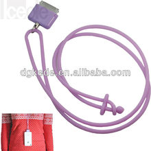 2012 New Style Silicone 4s / 4 Phone Lanyard