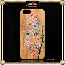 Top Grade Diamond Setting Rose Wood B.A.P For Iphone 4/4S/5 Matoki Case