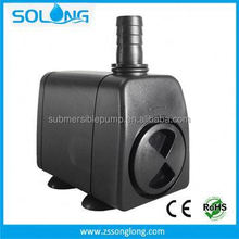 China supplier 2000 L/H made in china manual plastic water pump