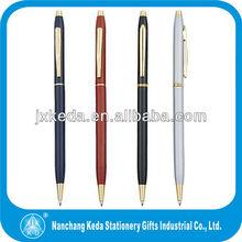 2014 Novelty low price cross metal ball pen cross pen refills
