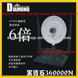 USB Wifi network adapter Diamond 360000N 36DBI
