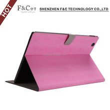 High quality ultra-thin Cover Case for Sony X peria Z4 Table PU Skin