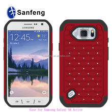 Useful Protector Heavy Duty Case For Samsung Galaxy S6 Active Mobile Housing / Best Seller For Samsung S6 Active G890 phone case