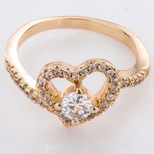 Fashion Wholesale large turkish heart shaped gemstone rings settings