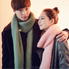 fashion couple polar fleece scarf, pure plain dyed winter scarf with many colors