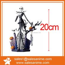 Hot sell Cartoon NightMare Before Christmas Pumpkin King Jack Skellington Action Figure