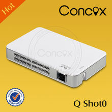 Concox DLP projector 80 lumens Q Shot0 HDMI big screen 1080p led and Low power