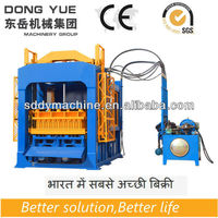QT6-15B Automatic fly ash brick making machine price (36 lines in India)