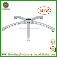2015 Polishing or Chrome metal chair base/5-star chair base for office chair
