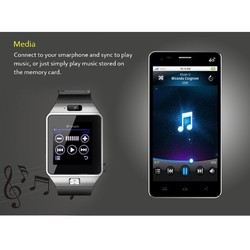 The popular DZ09 waterproof watch cell mobile phone wifi