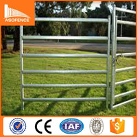 2015 new product galvanized cattle panel fencing/ steel rail cattle panel/ portable stockyard cattle panels