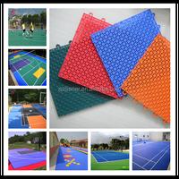 outdoor multi-purpose PP sports court flooring