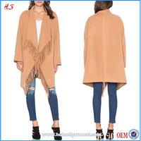 Latest Top Designs Women Fashion Coats Winter 2015 Cascade Fringe Winter Coats