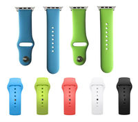 Hot selling silicon wrist band for apple watch
