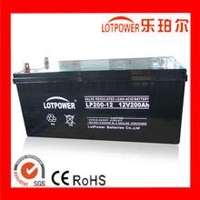 Popular 12volt 200 ah gel battery for ups and solar system
