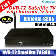 2015 Top selling set top box dvb-t2 tv tuner with hd 1080p