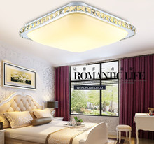 Adjustable lamp with RC crystal ceiling light 47cm*47cm /68cm*46cm white /adjustable to choose home lighting