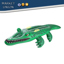 kids seabeach toys inflatable crocodile summer toys,animal shape air mattress,inflatable bouncer outdoor swimming pool beach toy
