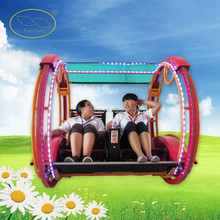 Indoor And Outdoor Amusement Park Passengers Driving Happy Car Cheap LesWing Car For Sale