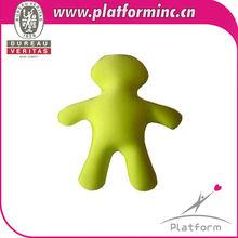 Human /boyfriend shape toy microbeads pillow&cushion