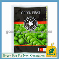 Customized Design Plastic Frozen Food Packaging Pouch & Bag