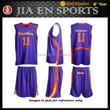 wholesale design european youth reversible cheap custom sublimation basketball uniform