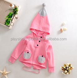 European And American Hot Selling Children Sweet Cute Autumn Wear Children Coat