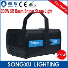 200w 5R beam sniper scanner led laser disco lights for stage used