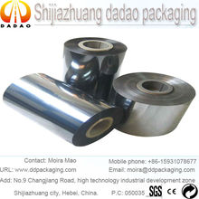 metallised film laminated with PE film for food and medicine packaging