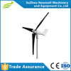 100w 400w 600w 1kw 12v 24v 48v Small Wind Gneerator Axis Wind Turbine OEM China Low Noise Reliable Wind Power Generator