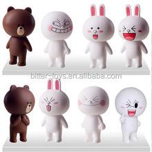 pvc Cartoon Figure Toys oem Animal Vinyl Toys Plastic Vinyl Toy