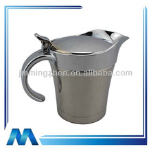 Stainless steel jam boat sauce boat,stainless steel material gravy boat with holder