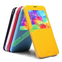 Nillkin Series Free Sample Cell Phone Case for Samsung Galaxy with Flip Stand PC + Leather