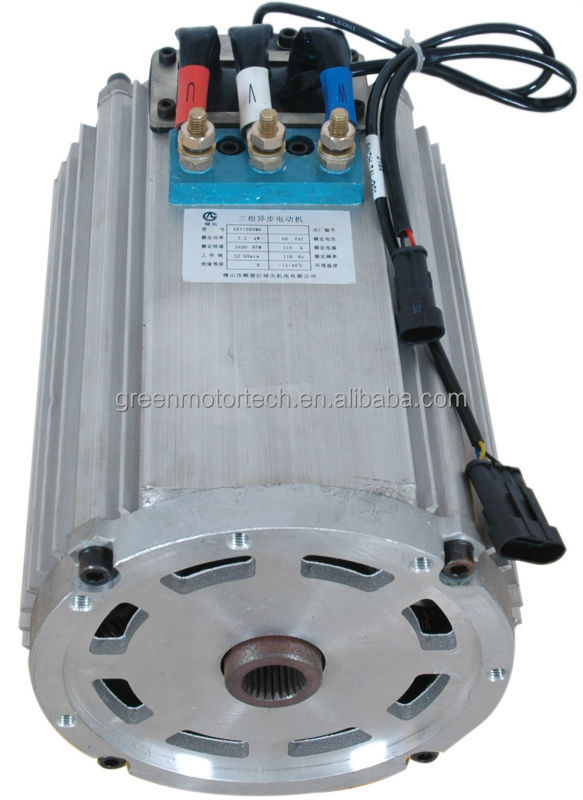 48v 72v ac motor for convertion car electric car for Advantages of ac motor