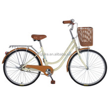 China made 26inch cheap wholesale steel retro men's bycicle/ city bike/ utility bicycles