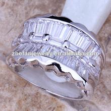 plata plateado anillo de hombre modelo de bijouterie joyería de latón
